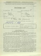 Popis prebivalstva 31. 3. 1931<br />Ljubljana<br />Florijanska ulica 10<br />Population census 31 March 1931