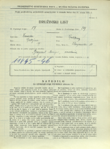 Popis prebivalstva 31. 3. 1931<br />Ljubljana<br />Florijanska ulica 11<br />Population census 31 March 1931
