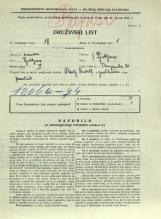 Popis prebivalstva 31. 3. 1931<br />Ljubljana<br />Florijanska ulica 20<br />Population census 31 March 1931