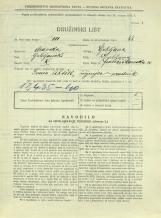 Popis prebivalstva 31. 3. 1931<br />Ljubljana<br />Frančiškanska ulica 10<br />Population census 31 March 1931