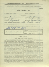 Popis prebivalstva 31. 3. 1931<br />Ljubljana<br />Frankopanska ulica 9<br />Population census 31 March 1931