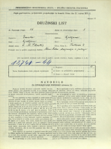 Popis prebivalstva 31. 3. 1931<br />Ljubljana<br />Friškovec 4<br />Population census 31 March 1931