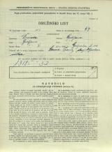 Popis prebivalstva 31. 3. 1931<br />Ljubljana<br />Galjevica 102<br />Population census 31 March 1931