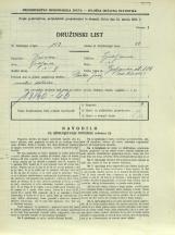 Popis prebivalstva 31. 3. 1931<br />Ljubljana<br />Galjevica 106<br />Population census 31 March 1931
