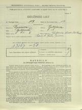 Popis prebivalstva 31. 3. 1931<br />Ljubljana<br />Galjevica 108<br />Population census 31 March 1931