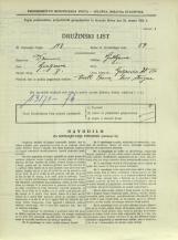 Popis prebivalstva 31. 3. 1931<br />Ljubljana<br />Galjevica 120<br />Population census 31 March 1931