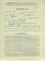 Popis prebivalstva 31. 3. 1931<br />Ljubljana<br />Galjevica 5<br />Population census 31 March 1931