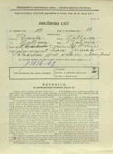 Popis prebivalstva 31. 3. 1931<br />Ljubljana<br />Galjevica 62<br />Population census 31 March 1931