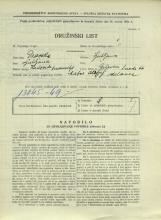 Popis prebivalstva 31. 3. 1931<br />Ljubljana<br />Galjevica 66<br />Population census 31 March 1931