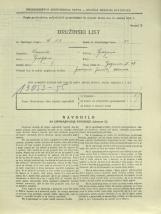Popis prebivalstva 31. 3. 1931<br />Ljubljana<br />Galjevica 68<br />Population census 31 March 1931