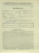 Popis prebivalstva 31. 3. 1931<br />Ljubljana<br />Galjevica 70<br />Population census 31 March 1931