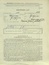 Popis prebivalstva 31. 3. 1931<br />Ljubljana<br />Galjevica 74<br />Population census 31 March 1931