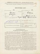 Popis prebivalstva 31. 3. 1931<br />Ljubljana<br />Gerbičeva ulica 12<br />Population census 31 March 1931