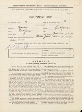 Popis prebivalstva 31. 3. 1931<br />Ljubljana<br />Gerbičeva ulica 14<br />Population census 31 March 1931