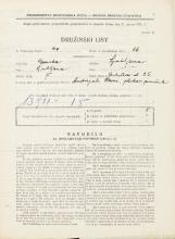 Popis prebivalstva 31. 3. 1931<br />Ljubljana<br />Gerbičeva ulica 25<br />Population census 31 March 1931