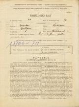 Popis prebivalstva 31. 3. 1931<br />Ljubljana<br />Gerbičeva ulica 3<br />Population census 31 March 1931
