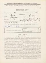 Popis prebivalstva 31. 3. 1931<br />Ljubljana<br />Gerbičeva ulica 8<br />Population census 31 March 1931