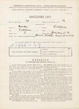 Popis prebivalstva 31. 3. 1931<br />Ljubljana<br />Gerbičeva ulica 81<br />Population census 31 March 1931