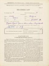 Popis prebivalstva 31. 3. 1931<br />Ljubljana<br />Gledališka ulica 12<br />Population census 31 March 1931