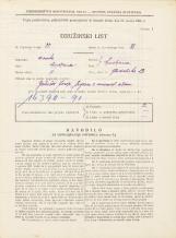 Popis prebivalstva 31. 3. 1931<br />Ljubljana<br />Gledališka ulica 13<br />Population census 31 March 1931
