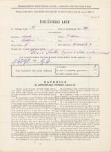Popis prebivalstva 31. 3. 1931<br />Ljubljana<br />Gledališka ulica 4<br />Population census 31 March 1931
