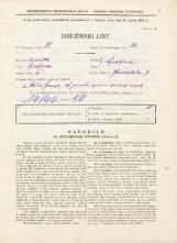 Popis prebivalstva 31. 3. 1931<br />Ljubljana<br />Gledališka ulica 7<br />Population census 31 March 1931