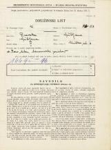Popis prebivalstva 31. 3. 1931<br />Ljubljana<br />Glinška ulica 6<br />Population census 31 March 1931