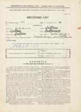 Popis prebivalstva 31. 3. 1931<br />Ljubljana<br />Goriška ulica 11<br />Population census 31 March 1931