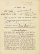 Popis prebivalstva 31. 3. 1931<br />Ljubljana<br />Goriška ulica 3<br />Population census 31 March 1931