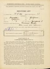 Popis prebivalstva 31. 3. 1931<br />Ljubljana<br />Gorupova ulica 3<br />Population census 31 March 1931