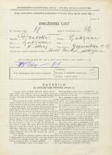 Popis prebivalstva 31. 3. 1931<br />Ljubljana<br />Gosposvetska cesta 13<br />Population census 31 March 1931