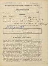 Popis prebivalstva 31. 3. 1931<br />Ljubljana<br />Gosposvetska cesta 14<br />Population census 31 March 1931