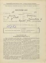 Popis prebivalstva 31. 3. 1931<br />Ljubljana<br />Gosposvetska cesta 16<br />Population census 31 March 1931