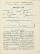 Popis prebivalstva 31. 3. 1931<br />Ljubljana<br />Gosposvetska cesta 8<br />Population census 31 March 1931