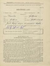 Popis prebivalstva 31. 3. 1931<br />Ljubljana<br />Grablovičeva ulica 26<br />Population census 31 March 1931