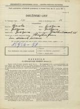 Popis prebivalstva 31. 3. 1931<br />Ljubljana<br />Grablovičeva ulica 28<br />Population census 31 March 1931