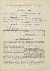 Popis prebivalstva 31. 3. 1931<br />Ljubljana<br />Gradaška ulica 16<br />Population census 31 March 1931