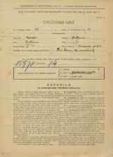 Popis prebivalstva 31. 3. 1931<br />Ljubljana<br />Gradaška ulica 4<br />Population census 31 March 1931