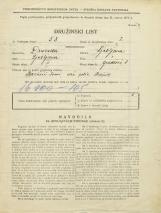 Popis prebivalstva 31. 3. 1931<br />Ljubljana<br />Gradišče 1<br />Population census 31 March 1931
