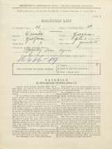 Popis prebivalstva 31. 3. 1931<br />Ljubljana<br />Gradišče 13<br />Population census 31 March 1931