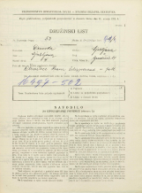 Popis prebivalstva 31. 3. 1931<br />Ljubljana<br />Gradišče 14<br />Population census 31 March 1931
