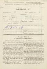 Popis prebivalstva 31. 3. 1931<br />Ljubljana<br />Gradišče 15<br />Population census 31 March 1931