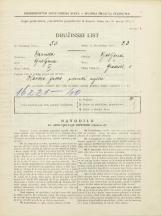 Popis prebivalstva 31. 3. 1931<br />Ljubljana<br />Gradišče 5<br />Population census 31 March 1931