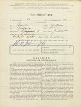 Popis prebivalstva 31. 3. 1931<br />Ljubljana<br />Gradišče 8a<br />Population census 31 March 1931