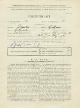 Popis prebivalstva 31. 3. 1931<br />Ljubljana<br />Gregorčičeva ulica 12<br />Population census 31 March 1931