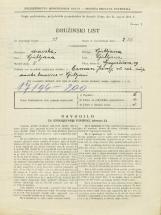 Popis prebivalstva 31. 3. 1931<br />Ljubljana<br />Gregorčičeva ulica 19<br />Population census 31 March 1931