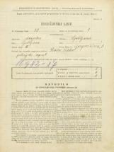 Popis prebivalstva 31. 3. 1931<br />Ljubljana<br />Gregorčičeva ulica 3<br />Population census 31 March 1931