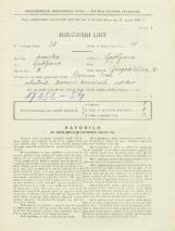 Popis prebivalstva 31. 3. 1931<br />Ljubljana<br />Gregorčičeva ulica 30<br />Population census 31 March 1931