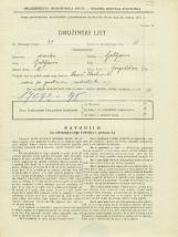 Popis prebivalstva 31. 3. 1931<br />Ljubljana<br />Gregorčičeva ulica 7a<br />Population census 31 March 1931