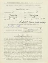 Popis prebivalstva 31. 3. 1931<br />Ljubljana<br />Groharjeva ulica 10<br />Population census 31 March 1931